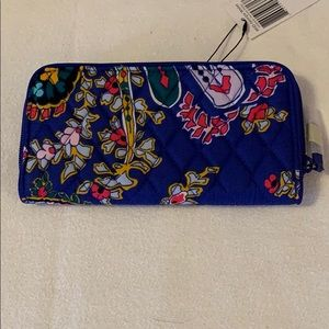 Romantic Paisley RFID Georgia Wallet